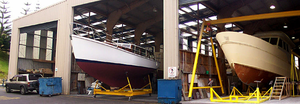 Nz boat building history facts